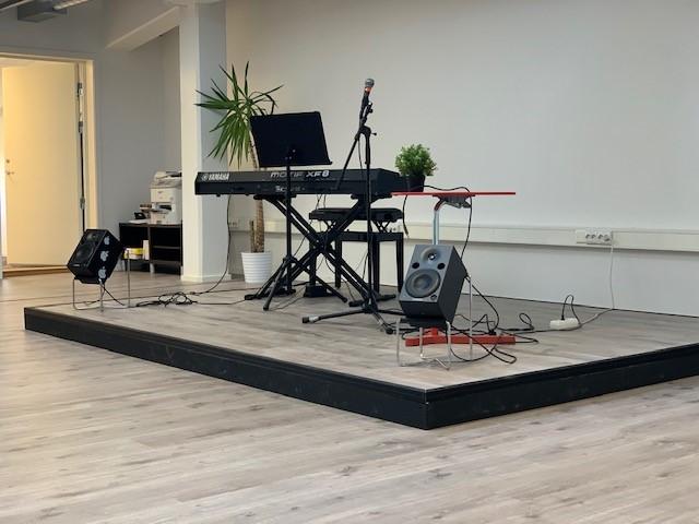 musikk undervisningslokaler